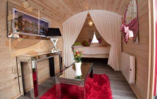 Log Cabins Gypsy Caravan interior