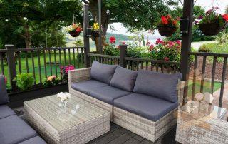 garden furniture for decking