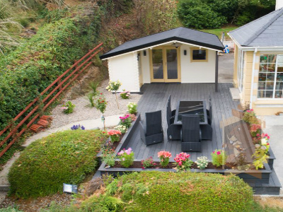 Log cabin Wolfgang project in Letterkenny