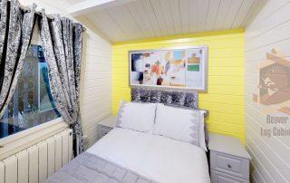 Log Cabin Kay bedroom