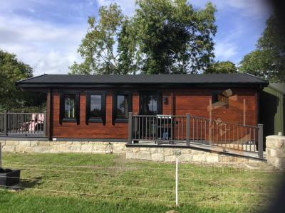 Garden House holiday home cabin