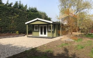 Garden House, Log cabin Balbriggan