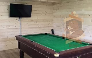 Log Cabin turned in Man Cave