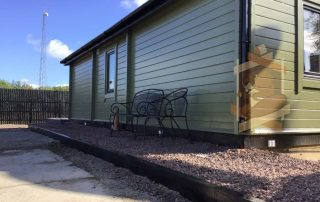 garden log cabin in dungannon