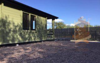 garden log cabin dungannon