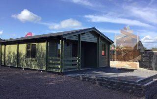 garden log cabin 2 (