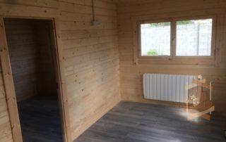 Ennis Garden log cabin
