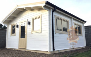 Garden House, log cabin Ennis