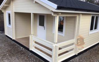 Garden Log Cabin Kay