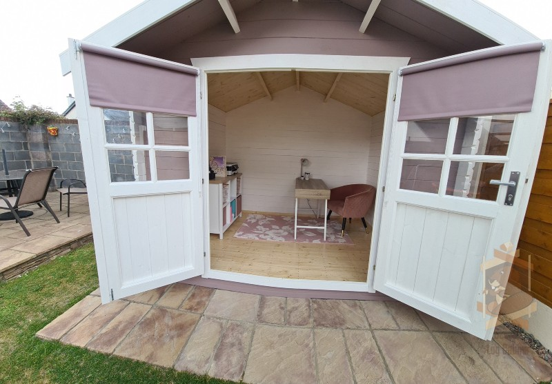 Garden home office for virtual office
