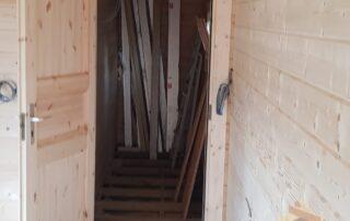 cabin door build