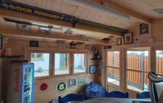 Recent build of a cabin bar