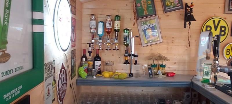 Dublin cabin Bar Newcastle, Co Dublin