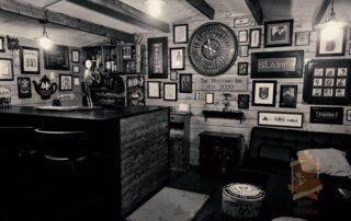cabin bar interior