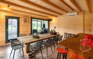 luxury log cabin timber