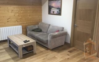 living area in Log Cabin Ballyragget