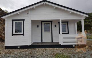 Log cabin Kay 8m x 6m