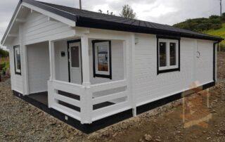 Log cabin Kay 8m x 6m Ireland