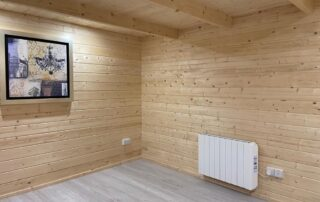 Log cabin Project in Meath