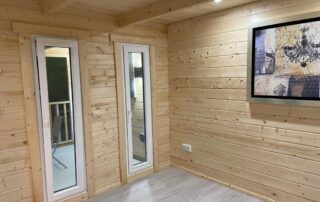 Beaver Log cabin Project in Meath
