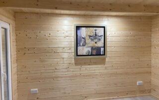 Bridgend Log cabin Project in Meath